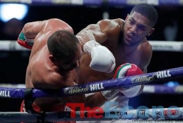 Anthony Joshua knocks out KubratPulev