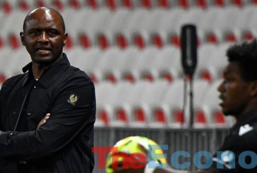 Vieira sacked as Nice coach