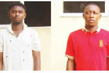 Police nab two suspected fraudsters over fake bank alerts