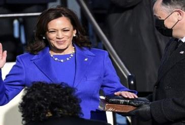Kamala Harris, First Woman US Vice President Sworn in