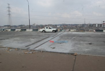Maintenance work ongoing at the Third Mainland Bridge