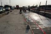 Road maintenance work ongoing at Ketu, along Ikorodu Road, Lagos.