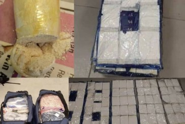 NDLEA seizes cocaine worth billions of naira at Lagos airport