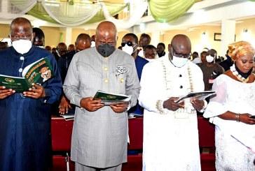 Funeral service of late Chief Jacob Fredrick-Obua