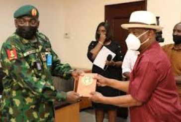 Withdraw Soldiers from Politicians, Wike Tells Chief of Army Staff