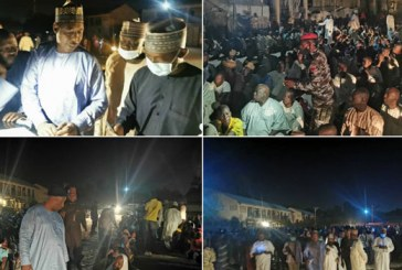Zulum Storms IDP Camp at Midnight, Discovers 650 Ghost Families