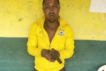 Ex-convict arrested during robbery in Lagos