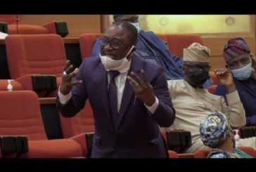 State of The Nation: Smart Adeyemi Weeps on Floor of The Senate