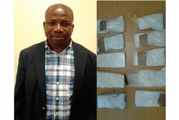 Former Lagos LG boss arrested with cocaine at MMIA, N145m seized