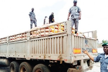 Customs Intercept Dangote Cement Truck with 600 Bags Of Imported Rice