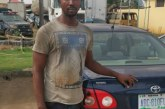 Fleeing Lagos driver arrested with boss' car in Benin, Edo State.