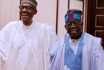 Buhari Takes Dig at Tinubu's Presidential Ambition