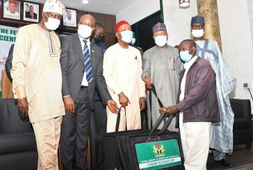 Presentation of indigenous science kits to Secondary Schools