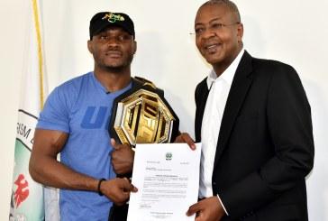 "Kamaru Usman appointed ""Tourism Ambassador"""