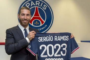 Paris Saint-Germain sign two-year deal with Ramos