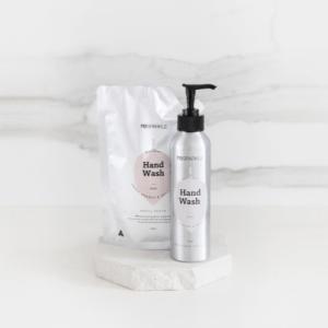 Natural Hand Wash Starter Pack Inside