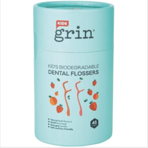 GRIN Biodegradable Dental Flossers Kid's 45