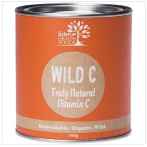 Eden Healthfoods Wild C Natural Vitamin C Powder 150g