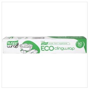 SUGARWRAP Eco Clingwrap Made From Sugarcane - 60m 1