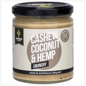 Natural Nut Butter Cashew Coconut - Crunchy 250g