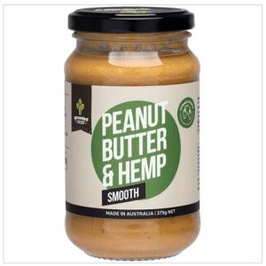 Natural Nut Butter Peanut Butter & Hemp Smooth 375g