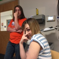 My friend Brandon and my friend Ashley