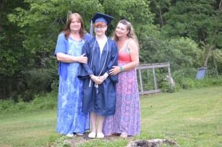 My grandma, me, and my mom.