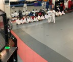 Kids class learning a new technique