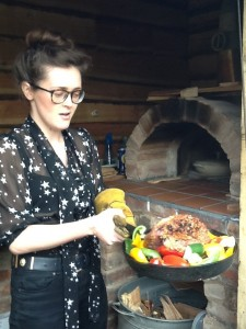 woodfired oven lamb
