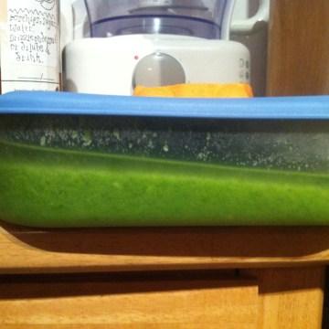 live below the line recipe:pea soup