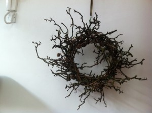 long-lasting Christmas wreath