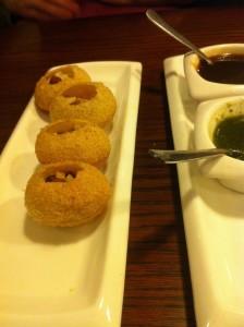vegan restaurant leeds - hansa's - bel puri