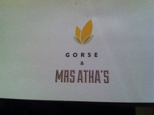 gorse pop-up at mrs atha's