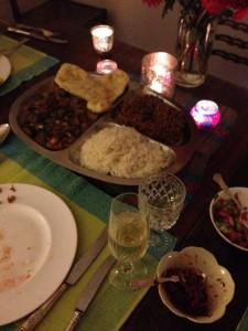 vegetarian thali recipes