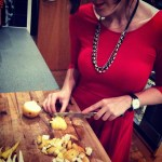the edible woman making pear stuffing for partridge in a pear tree recipe