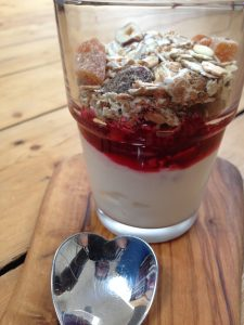 on the go breakfast inspiration yoghurt pot