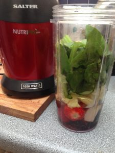nutripro blender green smoothie