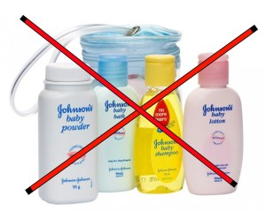 should i wash my baby? don't use johnson's baby products
