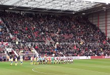Hearts v St Johnstone at Tynecastle, Saturday 14th December 2019