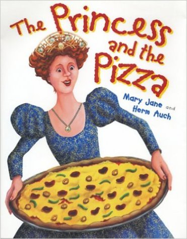 The Princess and the Pizza, Kids' Books set in Italy, www.theeducationaltourist.com