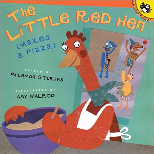 The Little Red Hen Makes Pizza, Kid's Books Set in Italy www.theeducationaltourist.com