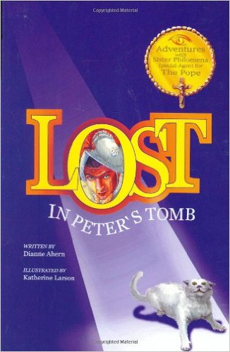 Lost in Peter's Tomb, Kids' Books Set in Italy, www.theeducationaltourist.com