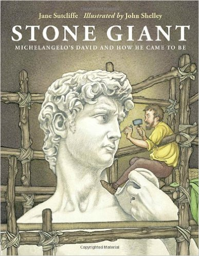 Stone Giant: Michelangelo's David, Kids' Books Set in Italy, www.theeducationaltourist.com