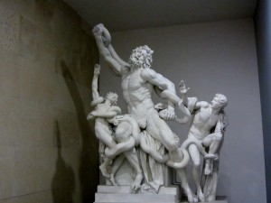 Laocoon Statue, Visit Rome, www.theeducationaltourist.com