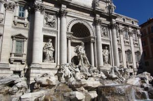 Trevi Fountain, Visit Rome, www.theeducationaltourist.com