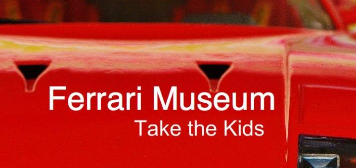 Red Ferrari, Ferrari Museum, www.theeducationaltourist.com