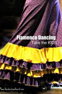 Flamenco dress, Flamenco, www.theeducationaltourist.com