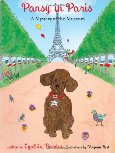 Pansy in Paris: A Mystery at the Museum: Kids' Books Set in Paris www.theeducationaltourist.com