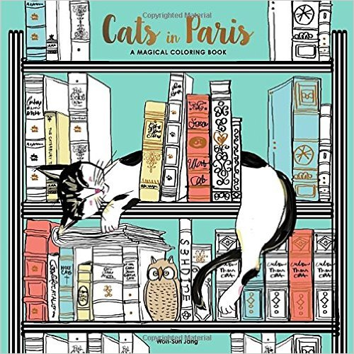 Cats in Paris: A Magical Coloring Book: Kids' Books Set in Paris www.theeducationaltourist.com