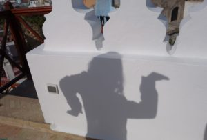 Child's shadow in Morocco, Simple Joy: Kids' perspective, www.theeducationaltourist.com